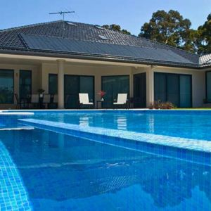 keep your pool warm during the colder months with our solar heating energy solutions